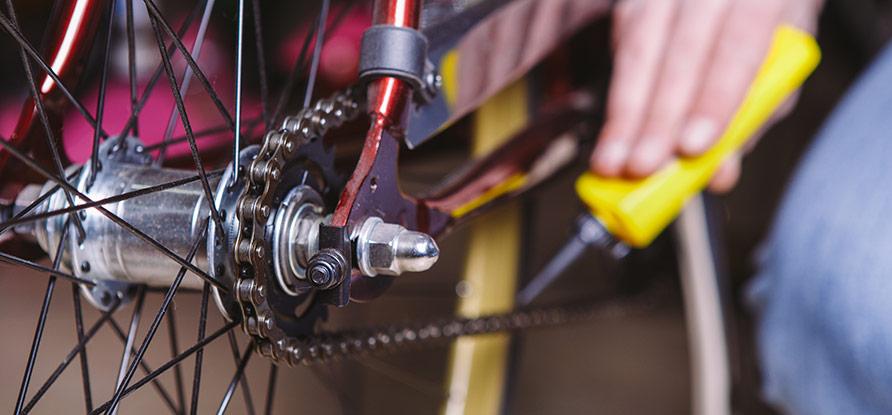 Byta cykelkedja